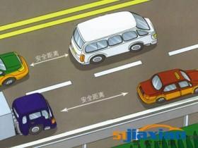 保持安全车距汇总高速紧急变线注意事项