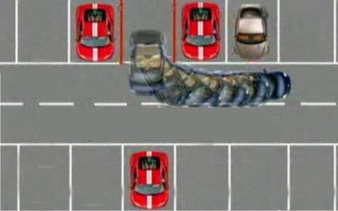 图解:三招让新手变成停车高手 第3张-库车驾校排名-报名电话-价格表-考驾照流程-科目考试技巧