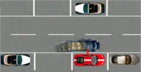 图解:三招让新手变成停车高手 第5张-库车驾校排名-报名电话-价格表-考驾照流程-科目考试技巧