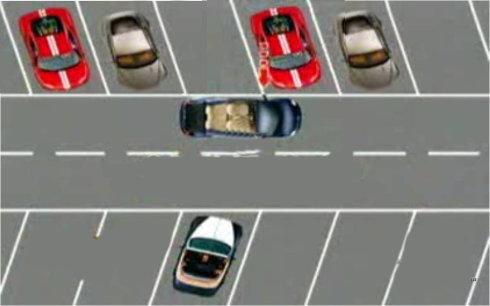 图解:三招让新手变成停车高手 第8张-库车驾校排名-报名电话-价格表-考驾照流程-科目考试技巧