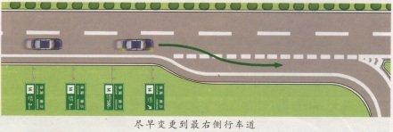 高速公路模拟驾驶--安全驶出高速公路 第1张-库车驾校排名-报名电话-价格表-考驾照流程-科目考试技巧