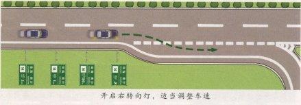 高速公路模拟驾驶--安全驶出高速公路 第2张-库车驾校排名-报名电话-价格表-考驾照流程-科目考试技巧