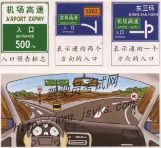 高速公路模拟驾驶--安全驶入高速公路 第1张-库车驾校排名-报名电话-价格表-考驾照流程-科目考试技巧