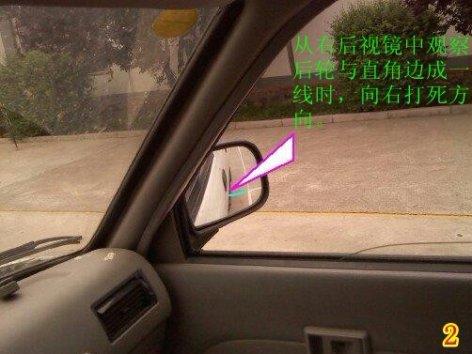 2019五项考试:侧方停车技巧图解 第3张-库车驾校排名-报名电话-价格表-考驾照流程-科目考试技巧