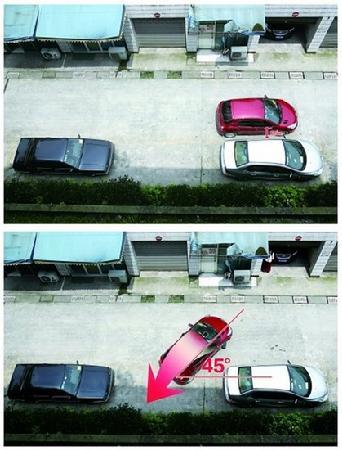 """倒车""""旷世绝学"""" 掌握要点停车不难 第2张-库车驾校排名-报名电话-价格表-考驾照流程-科目考试技巧"""