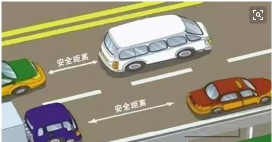 安全行驶防追尾完美刹车小技巧 第1张-库车驾校排名-报名电话-价格表-考驾照流程-科目考试技巧