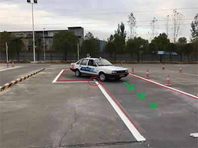 12张图彻底教会你侧方位停车,如此简单不得不服 第10张-库车驾校排名-报名电话-价格表-考驾照流程-科目考试技巧